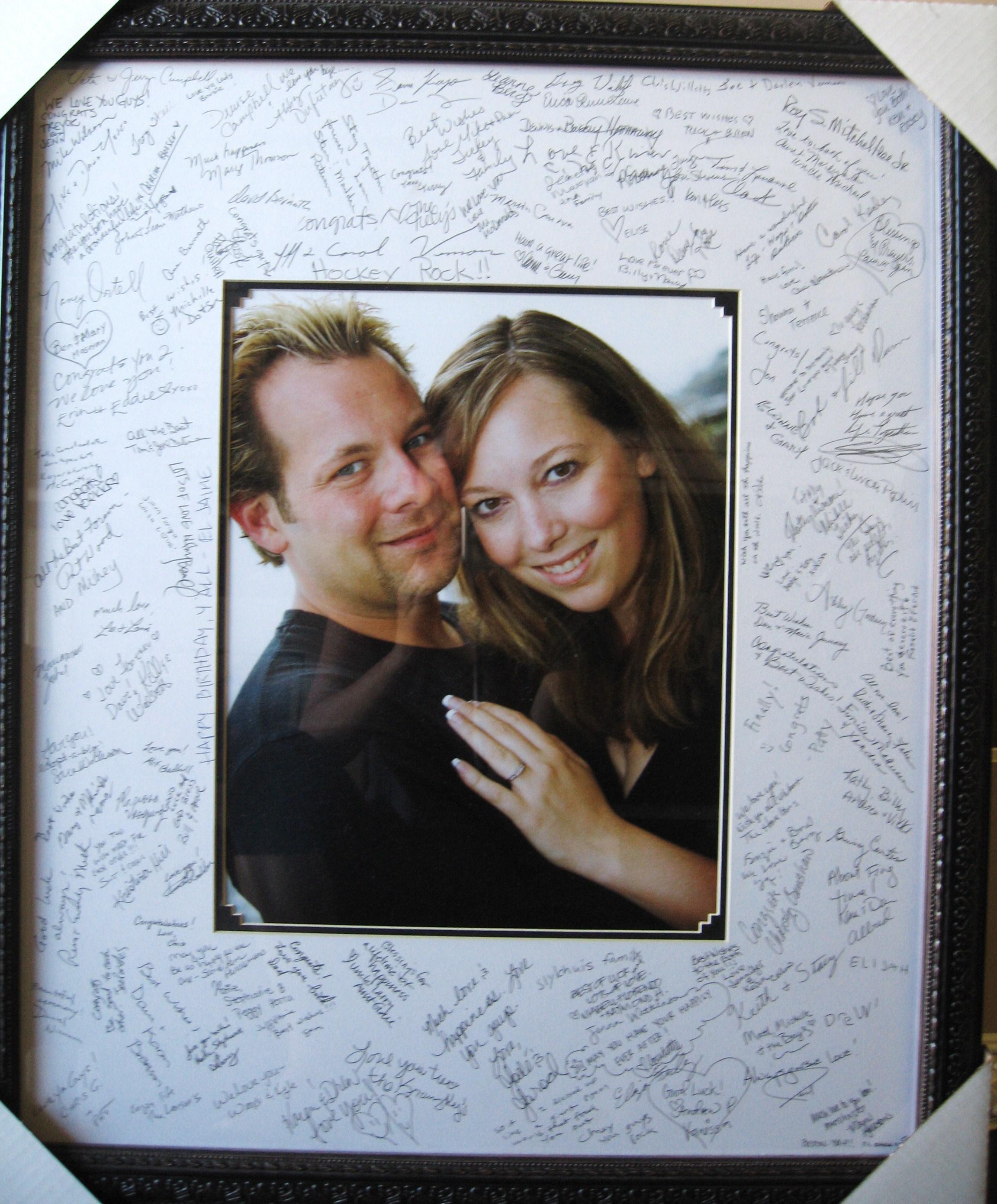 Wedding/Birthdays Signature Frames – LA Framing Wholesaler